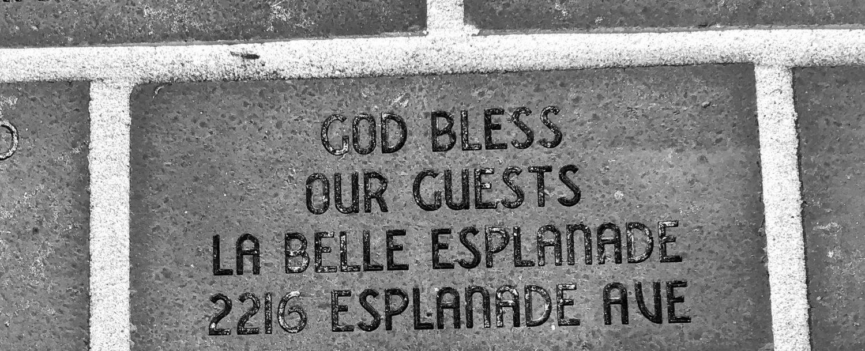 God bless New Orleans visitors
