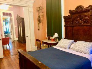 bedroom in Les Fleurs Suite