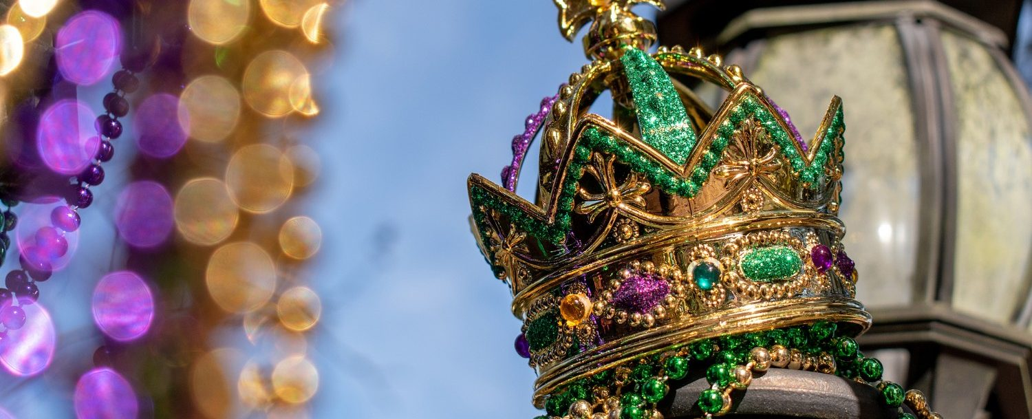 Mardi Gras Crown in New Orleans