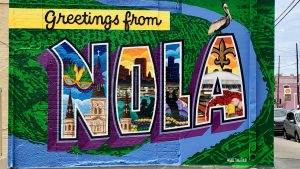 Greetings from NOLA