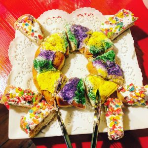 King cake, New Orleans, La Belle Esplanade