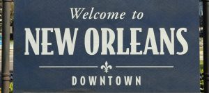 Welcome to Downtown New Orleans.