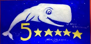 Yippee the Whale loves New Orleans