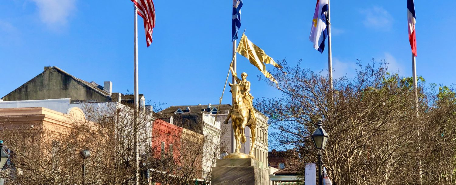 Joan of Arc Statue in New Orleans